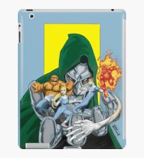 The Fantastic Four in the hands of Doom! iPad Case/Skin