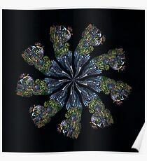 WDV - 791 - Base Rate Mandala Poster