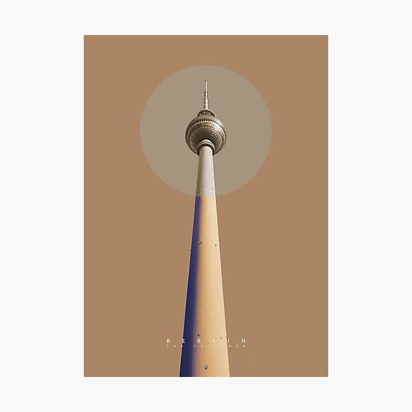 Berlin - The TV Tower Fotodruck