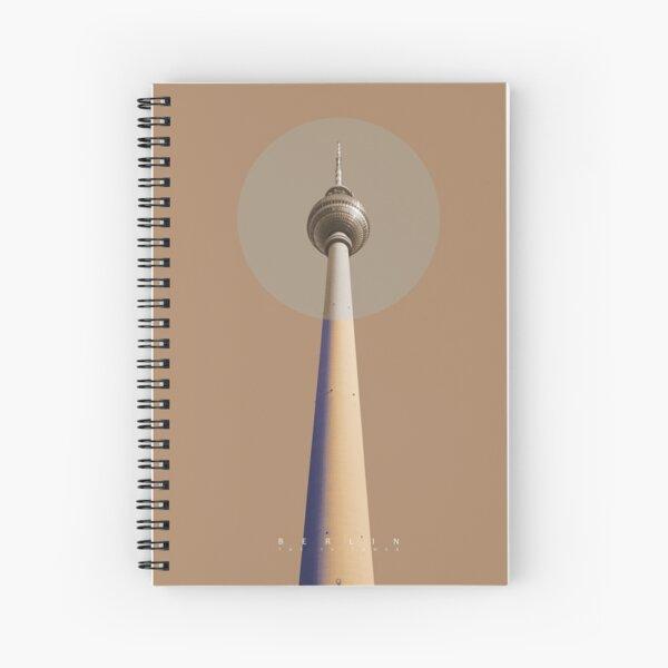 Berlin - The TV Tower Spiralblock