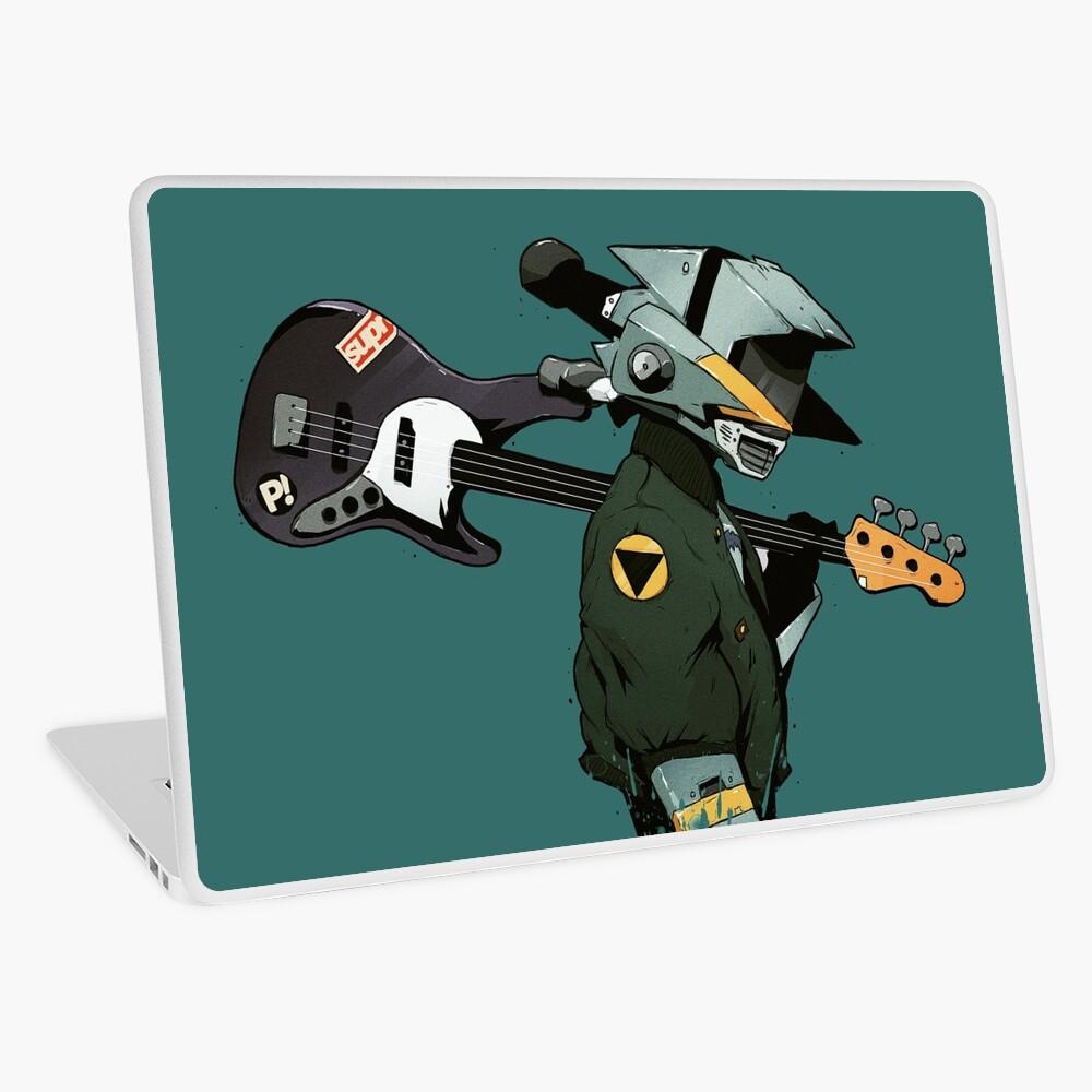 FLCL Guitar Laptop Skin