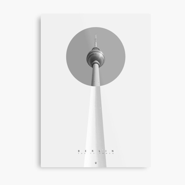 Berlin - The TV Tower Metallbild