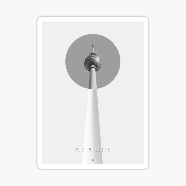 Berlin - The TV Tower Sticker