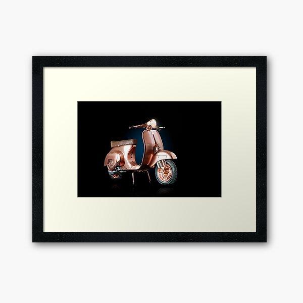 Vespa Primavera Framed Art Print
