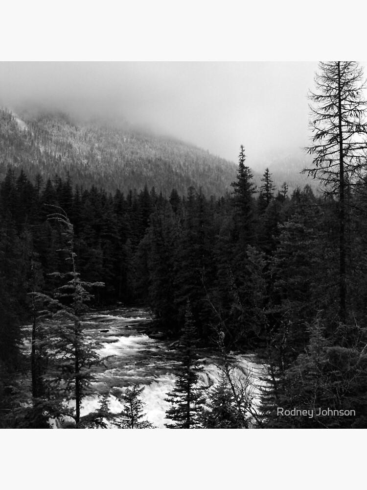 McDonald Falls, Glacier N.P. by rodneyj46