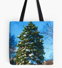Bolsa de tela Evergreen in Winter