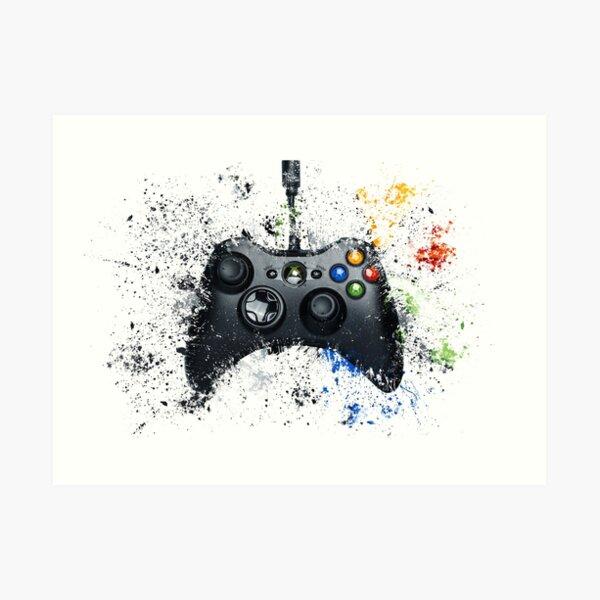 Gaming Controller Art Print