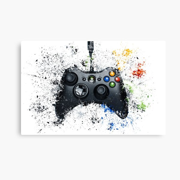 Gaming Controller Canvas Print