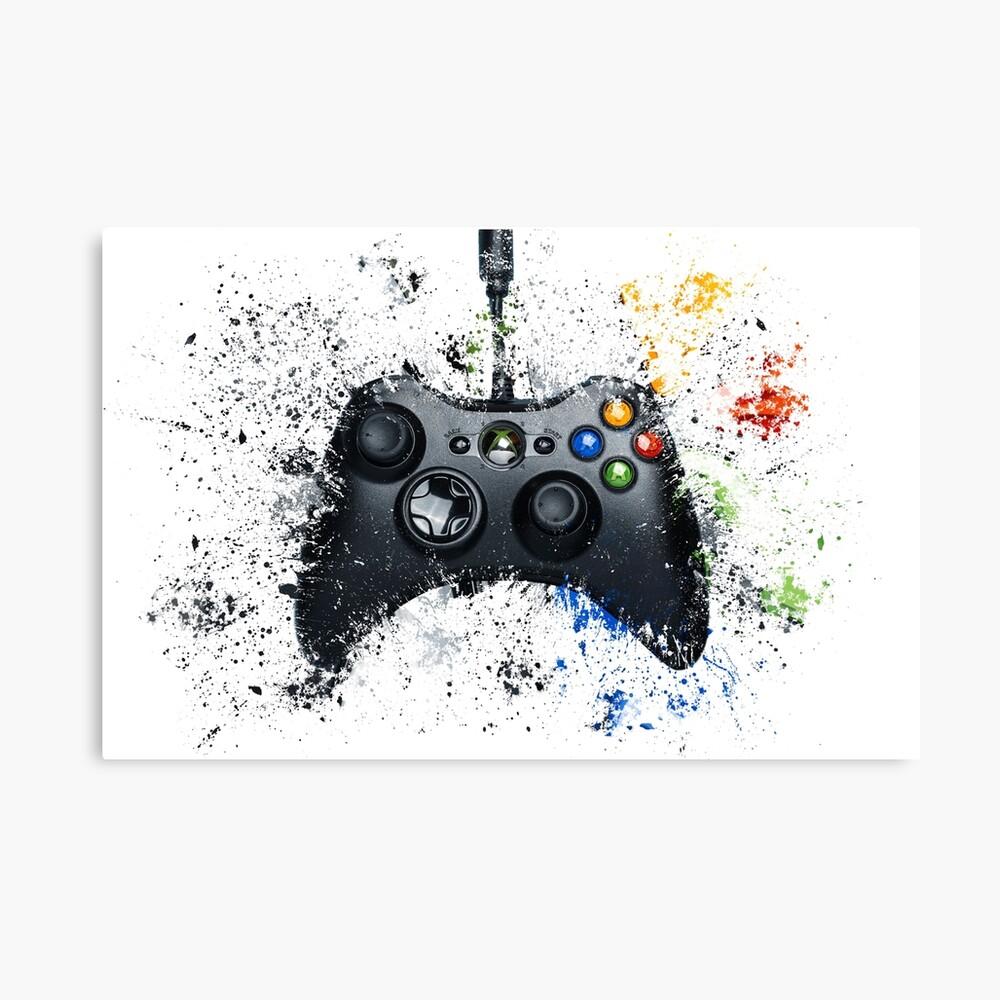 Controlador de juegos de Xbox Lienzo