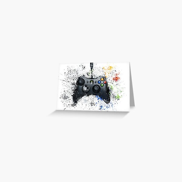 Xbox Gaming Controller Greeting Card