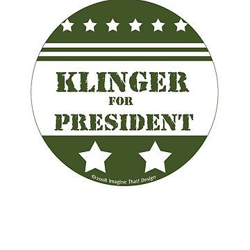 For President Klinger by ImagineThatNYC