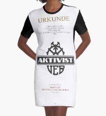 Aktivist der sozialistischen Arbeit T-Shirt Kleid