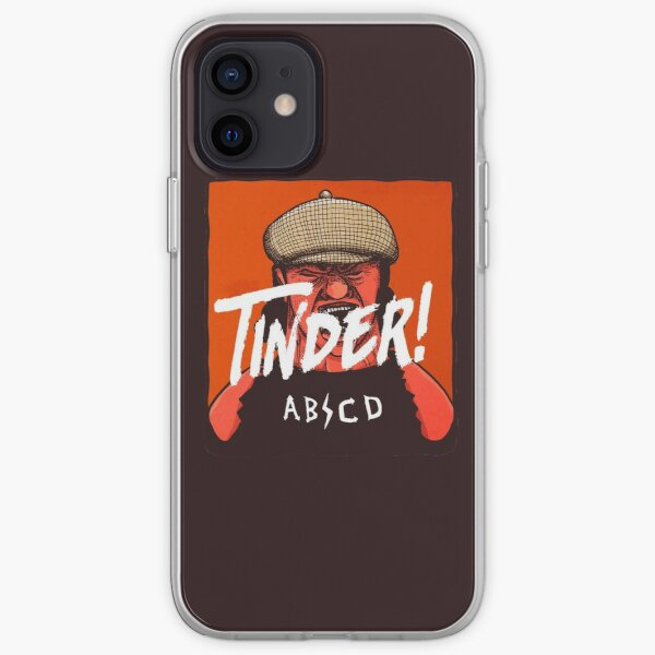 Tinder! by ABCD iPhone Soft Case
