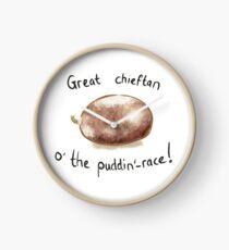 Robert Burns - Haggis (Great Chieftan o' the Puddin- race!)   Burns Night Clock