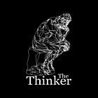 The Thinker. Line Art Rendition. by Sonof-Deair