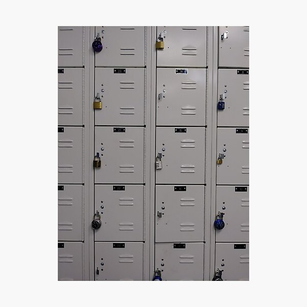#cabinet, #rack, #mailbox, #security, #order, #food, #data, #drawer Photographic Print