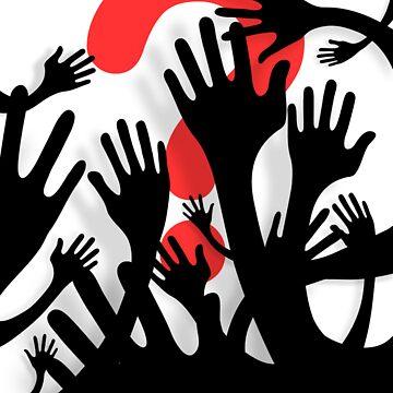 Searching Hands Alternative by BizarroArt