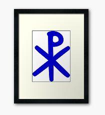 Chi Ro Symbol Framed Print