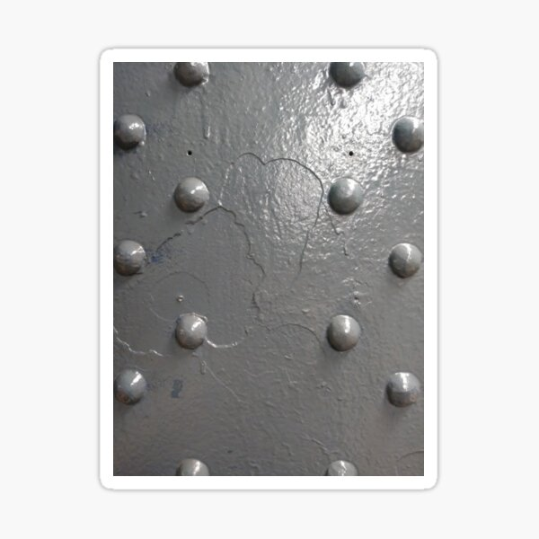 #steel, #stud, #abstract, #reflection, #dew, #pattern, #drop, #ColorImage Sticker