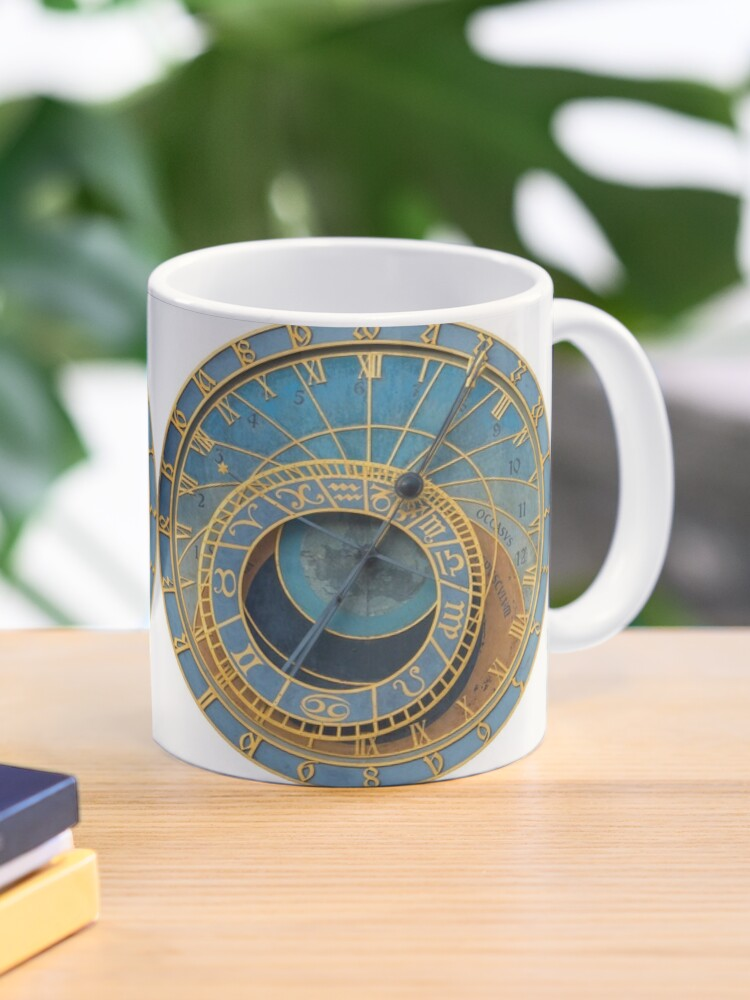 Stunning Medieval Astronomical Clock Or Praha Orloj In Prague Praha Professional Photo Mug By Picturestation Redbubble