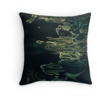 water abstract H2O # 41 Throw Pillow