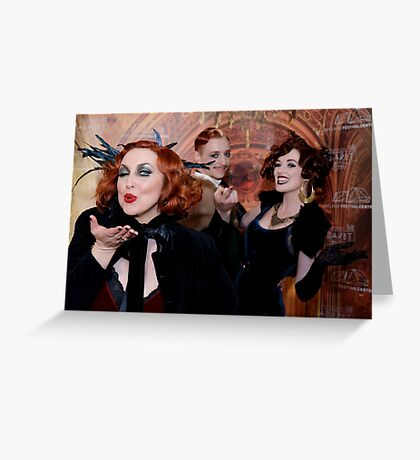 It's Cabaret! Greeting Card