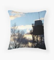 Lookout Tower Throw Pillow