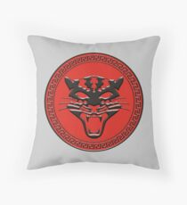 Leopard Army Throw Pillow