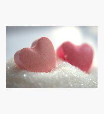 Sugarhearts Photographic Print