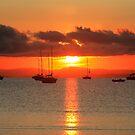 Sunset . Donegal  Bay. Ireland by EUNAN SWEENEY