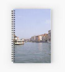 Venice waterway Spiral Notebook