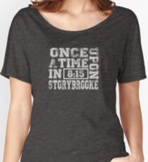 Once Upon a Time in Storybrooke Women's Relaxed Fit T-Shirt