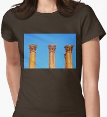 Corinthian Capitals Womens Fitted T-Shirt