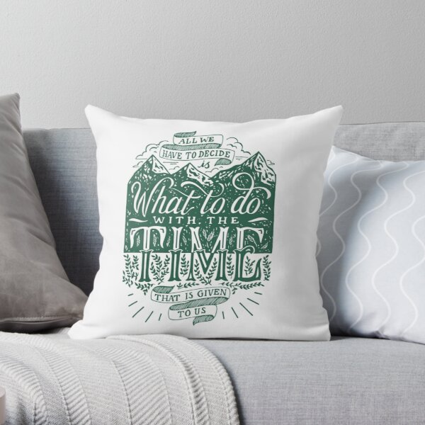 Time Given To Us Throw Pillow