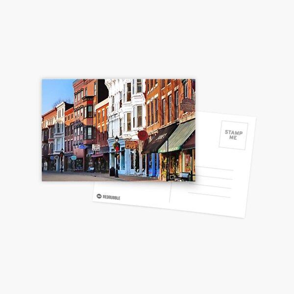 Main Street ~ Galena, Illinois Postcard