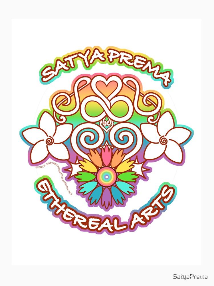 Satya Prema Ethereal Arts Emblem by SatyaPrema