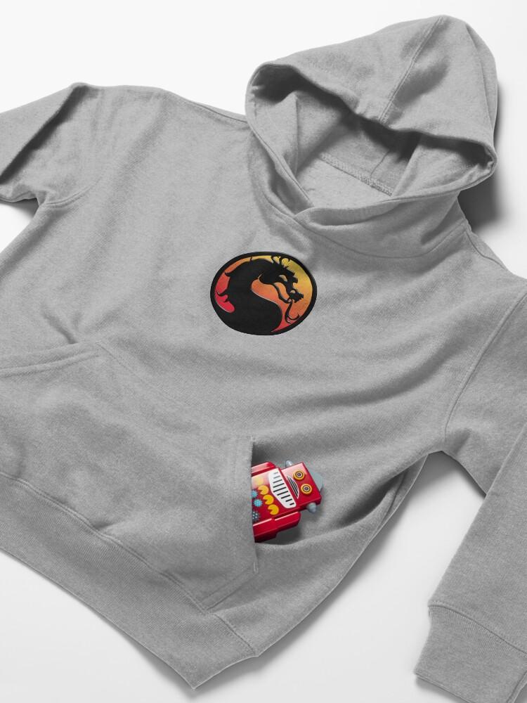 Vista alternativa de Sudadera con capucha para niños Mortal Kombat