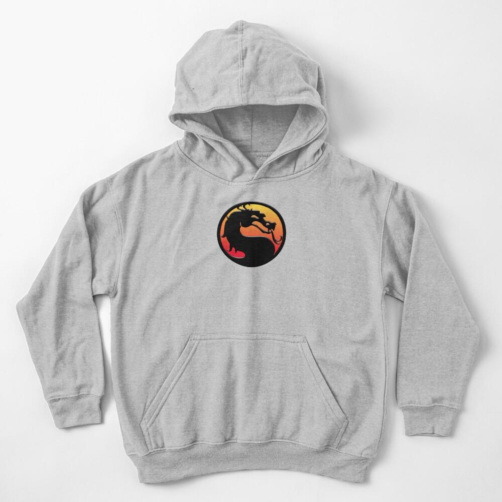 Mortal Kombat Sudadera con capucha para niños