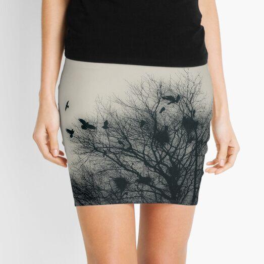 Crows Mini Skirt