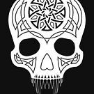 Celtic Skull 2 Invert by Derek Smith