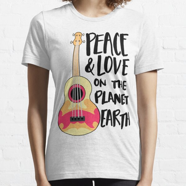 Peace & Love on the Planet Earth Essential T-Shirt