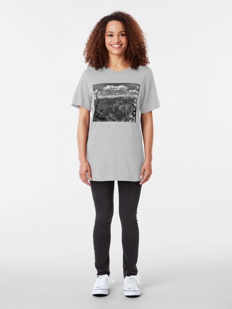 Alternate view of Grand Canyon of the Tuolumne - Yosemite Slim Fit T-Shirt