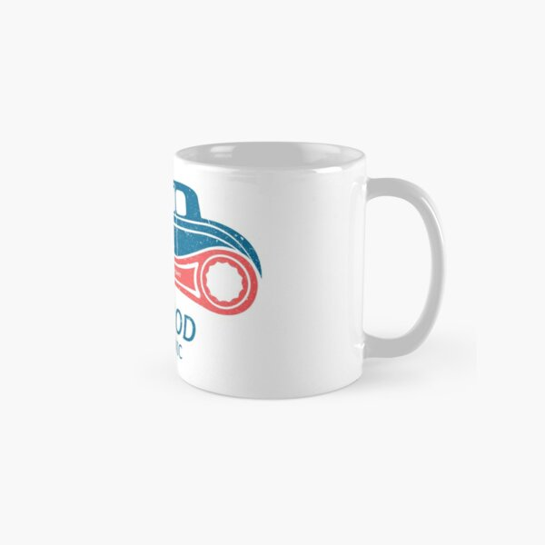 Hot Rod Mechanic Classic Mug
