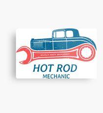 Hot Rod Mechanic Metalldruck