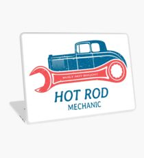 Hot Rod Mechanic Laptop Folie