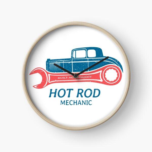 Hot Rod Mechanic Clock