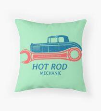 Hot Rod Mechanic Sitzkissen
