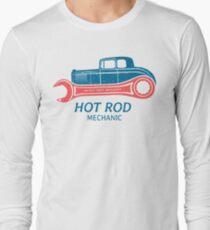 Hot Rod Mechanic Langarmshirt