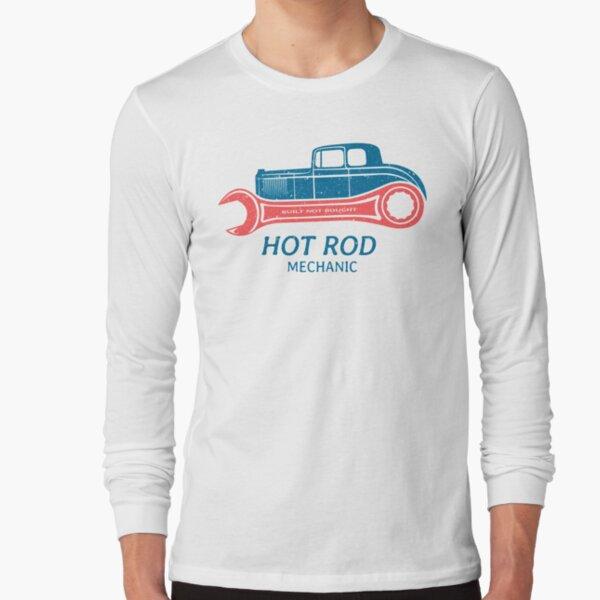 Hot Rod Mechanic Long Sleeve T-Shirt