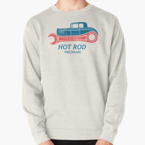 Hot Rod Mechanic Pullover Sweatshirt